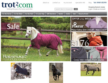 Multichannel equestrian store Trot2.com