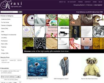 kraxi giftware store - a multichannel retailer
